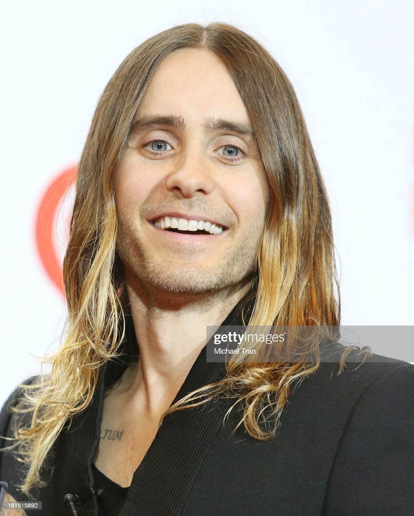 Jared Leto arrives at the iHeartRadio Music Festival - press room - Day 2 held on September 21, 2013 in Las Vegas, Nevada.