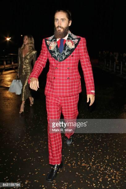 Jared Leto attending the GQ awards on September 5 2017 in London England