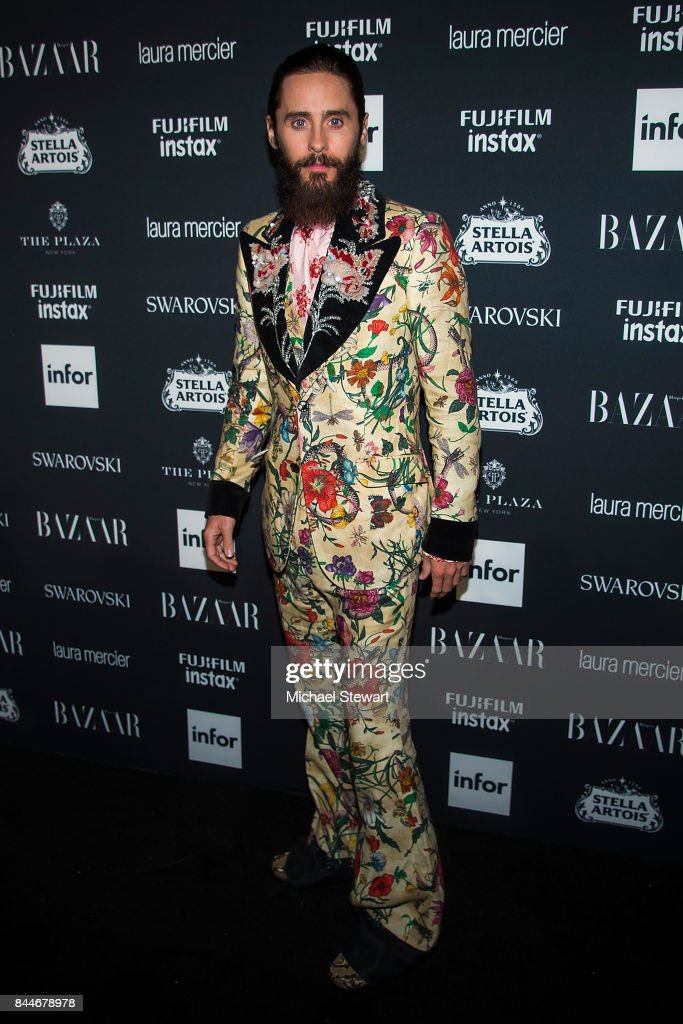 Jared Leto attends 2017 Harper's Bazaar Icons at The Plaza Hotel on September 8, 2017 in New York City.