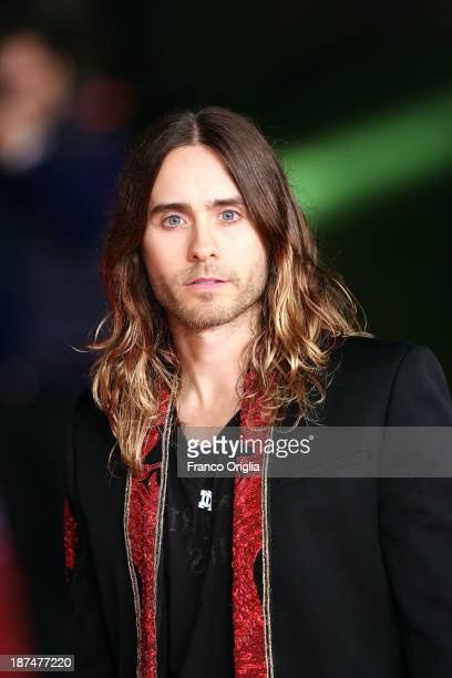 Jared Leto attends 'Dallas Buyers Club' Premiere And Vanity Fair Award during The 8th Rome Film Festival at Auditorium Parco Della Musica on November...