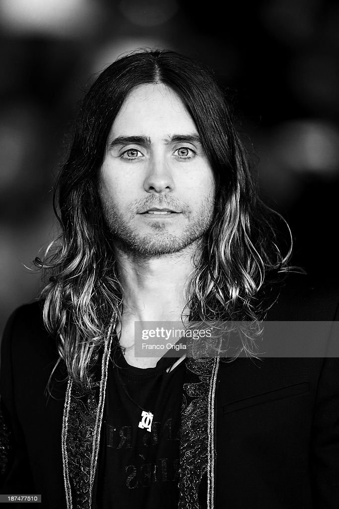 <a gi-track='captionPersonalityLinkClicked' href=/galleries/search?phrase=Jared+Leto&family=editorial&specificpeople=214764 ng-click='$event.stopPropagation()'>Jared Leto</a> attends 'Dallas Buyers Club' Premiere And Vanity Fair Award during The 8th Rome Film Festival at Auditorium Parco Della Musica on November 9, 2013 in Rome, Italy.