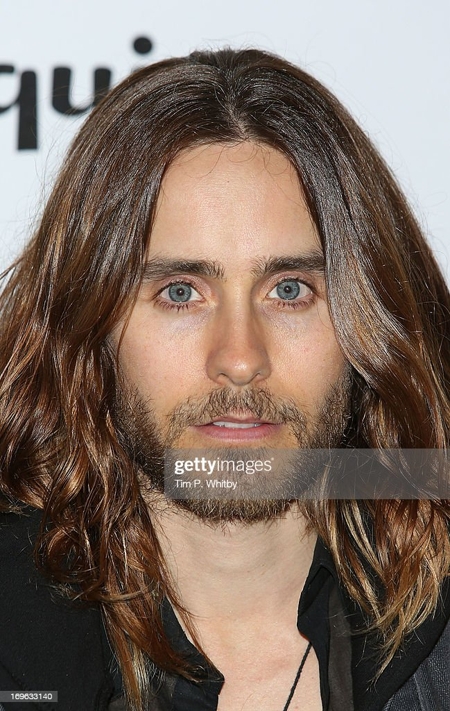 <a gi-track='captionPersonalityLinkClicked' href=/galleries/search?phrase=Jared+Leto&family=editorial&specificpeople=214764 ng-click='$event.stopPropagation()'>Jared Leto</a> attends Esquire's first summer party at Somerset House on May 29, 2013 in London, England.