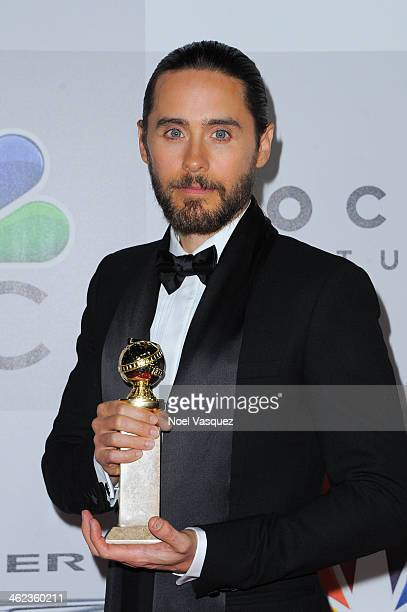 Jared Leto attends NBC Universal's 71st Annual Golden Globe Awards After Party at The Beverly Hilton Hotel on January 12 2014 in Beverly Hills...