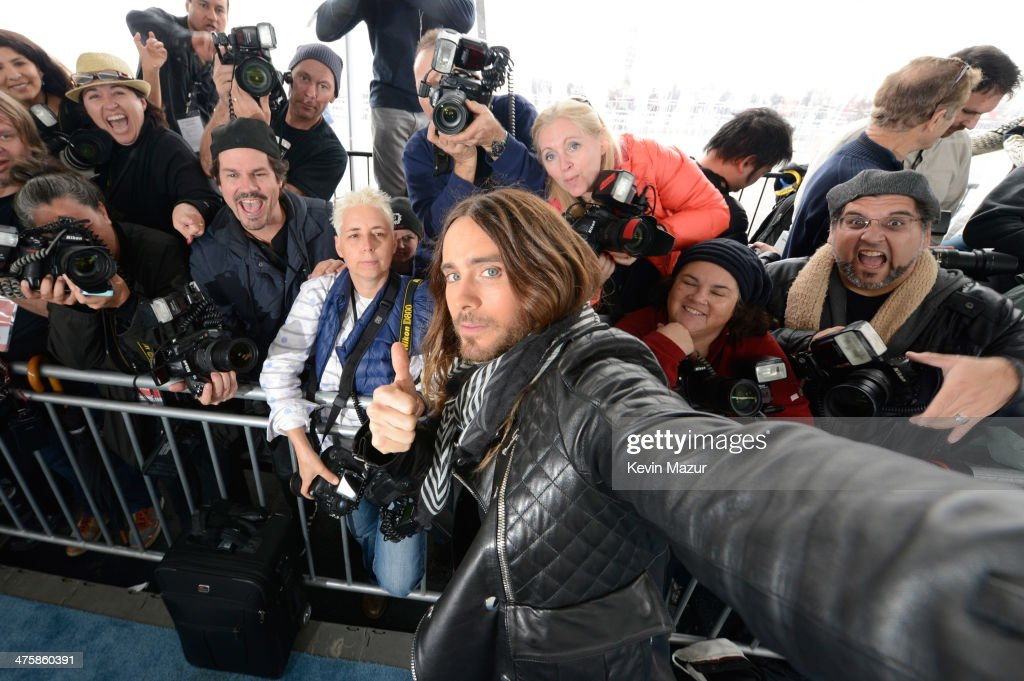<a gi-track='captionPersonalityLinkClicked' href=/galleries/search?phrase=Jared+Leto&family=editorial&specificpeople=214764 ng-click='$event.stopPropagation()'>Jared Leto</a> attends the 2014 Film Independent Spirit Awards at Santa Monica Beach on March 1, 2014 in Santa Monica, California.
