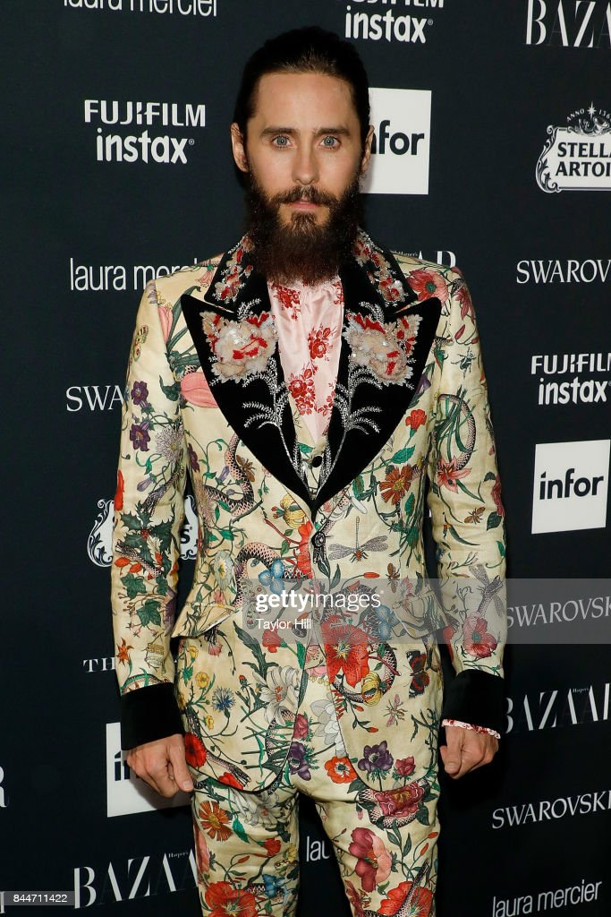 Jared Leto attends the 2017 Harper ICONS party at The Plaza Hotel on September 8, 2017 in New York City.