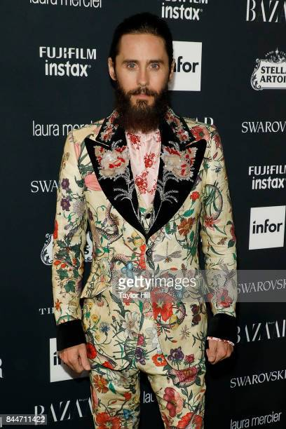 Jared Leto attends the 2017 Harper ICONS party at The Plaza Hotel on September 8 2017 in New York City