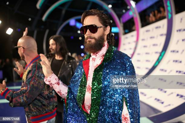 Jared Leto attends the 2017 MTV Video Music Awards at The Forum on August 27 2017 in Inglewood California