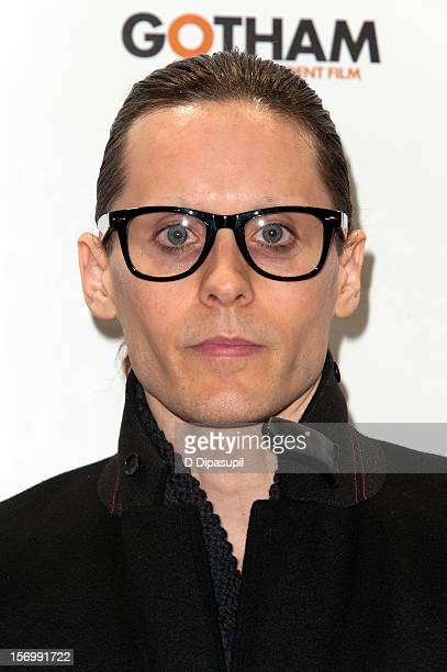 Jared Leto attends the 22nd annual Gotham Independent Film awards at Cipriani Wall Street on November 26 2012 in New York City
