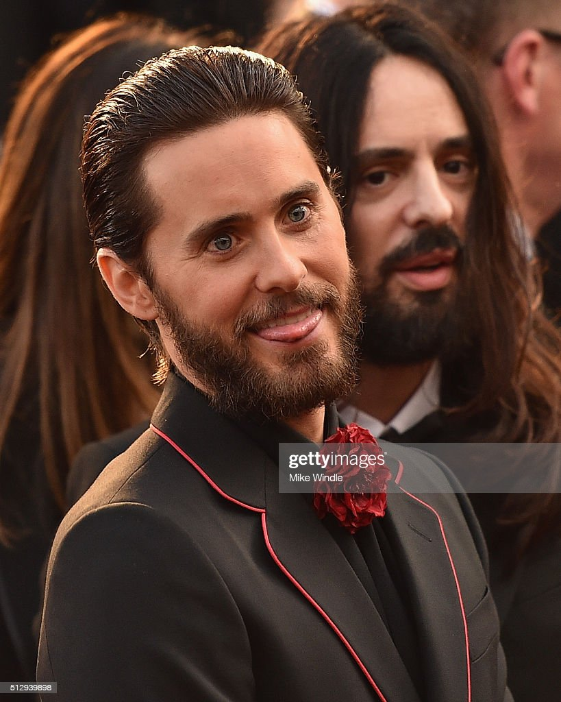 Jared Leto attends the 88th Annual Academy Awards at Hollywood & Highland Center on February 28, 2016 in Hollywood, California.