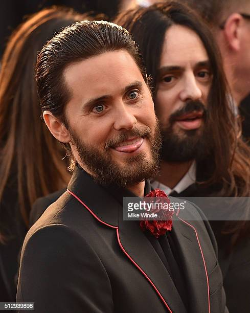 Jared Leto attends the 88th Annual Academy Awards at Hollywood Highland Center on February 28 2016 in Hollywood California