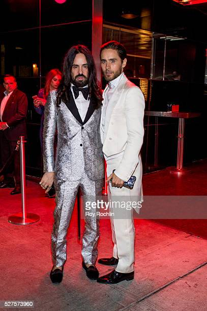 Jared Leto attends the after Party at the Standard Hotel following 'Manus x Machina Fashion In An Age Of Technology' Costume Institute Gala on May 2...