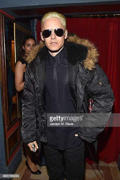 Jared Leto attends the Balmain Aftershow Dinner as part of the Paris Fashion Week Womenswear Fall/Winter 2015/2016 on March 5 2015 in Paris France