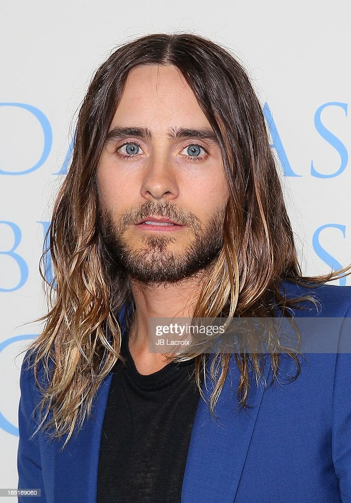 <a gi-track='captionPersonalityLinkClicked' href=/galleries/search?phrase=Jared+Leto&family=editorial&specificpeople=214764 ng-click='$event.stopPropagation()'>Jared Leto</a> attends the 'Dallas Buyers Club' Los Angeles premiere held at the Academy of Motion Picture Arts and Sciences on October 17, 2013 in Beverly Hills, California.