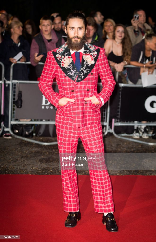 Jared Leto attends the GQ Men Of The Year Awards at Tate Modern on September 5, 2017 in London, England.