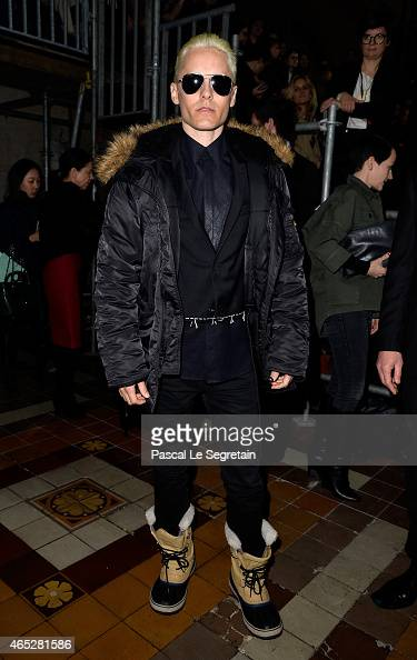 Jared Leto attends the Lanvin show as part of the Paris Fashion Week Womenswear Fall/Winter 2015/2016 on March 5 2015 in Paris France