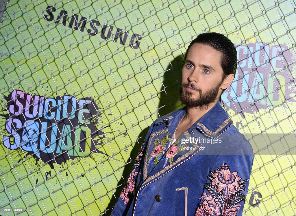 Jared Leto attends the 'Suicide Squad' World Premiere at The Beacon Theatre on August 1, 2016 in New York City.