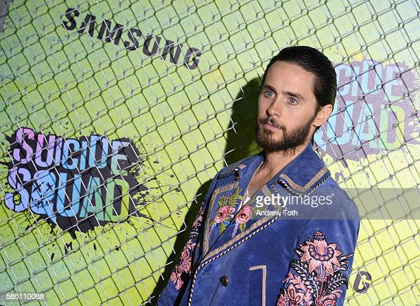 Jared Leto attends the 'Suicide Squad' World Premiere at The Beacon Theatre on August 1 2016 in New York City
