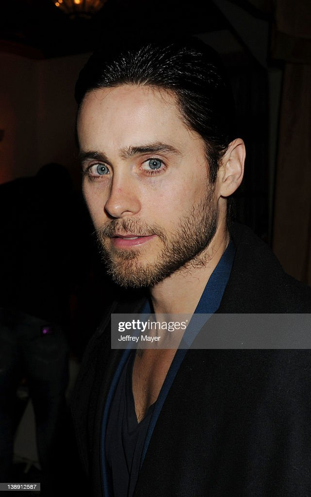 <a gi-track='captionPersonalityLinkClicked' href=/galleries/search?phrase=Jared+Leto&family=editorial&specificpeople=214764 ng-click='$event.stopPropagation()'>Jared Leto</a> attends the Universal Music Group 54th Grammy Awards Viewing Reception hosted by Lucian Grainge at private residence on February 12, 2012 in Los Angeles, California.