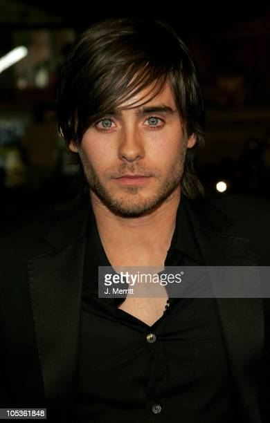 Jared Leto during 'Alexander' World Premiere Arrivals at Grauman's Chinese Theater in Hollywood California United States