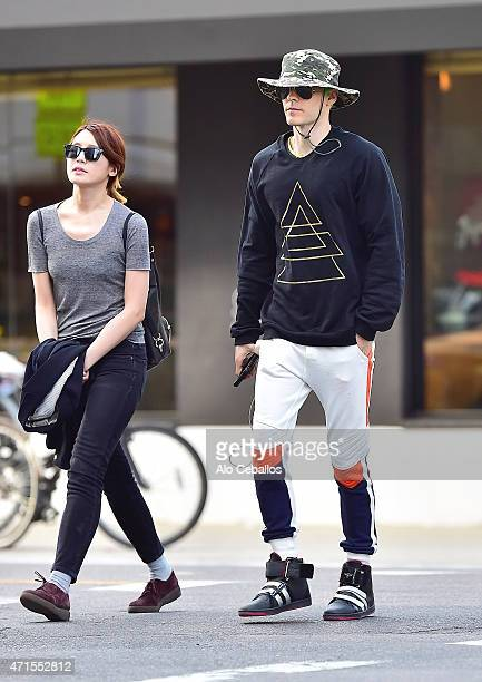 Jared Leto is seen in Soho on April 29 2015 in New York City