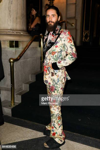 Jared Leto is seen on September 8 2017 in New York City