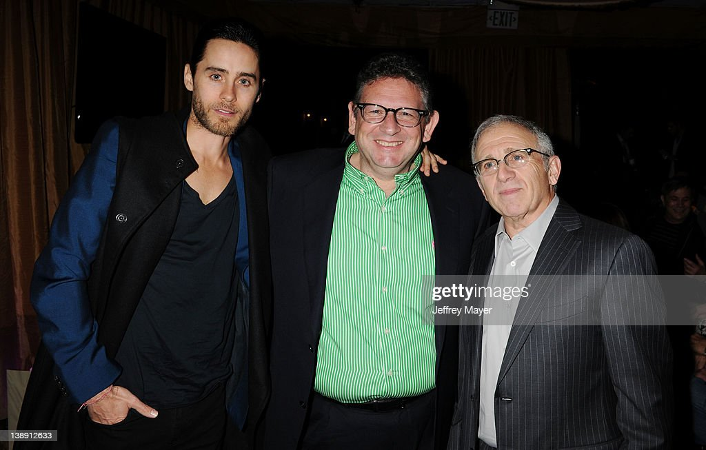 <a gi-track='captionPersonalityLinkClicked' href=/galleries/search?phrase=Jared+Leto&family=editorial&specificpeople=214764 ng-click='$event.stopPropagation()'>Jared Leto</a>, <a gi-track='captionPersonalityLinkClicked' href=/galleries/search?phrase=Lucian+Grainge&family=editorial&specificpeople=813742 ng-click='$event.stopPropagation()'>Lucian Grainge</a> and <a gi-track='captionPersonalityLinkClicked' href=/galleries/search?phrase=Irving+Azoff&family=editorial&specificpeople=2560071 ng-click='$event.stopPropagation()'>Irving Azoff</a> attend the Universal Music Group 54th Grammy Awards Viewing Reception hosted by <a gi-track='captionPersonalityLinkClicked' href=/galleries/search?phrase=Lucian+Grainge&family=editorial&specificpeople=813742 ng-click='$event.stopPropagation()'>Lucian Grainge</a> at private residence on February 12, 2012 in Los Angeles, California.