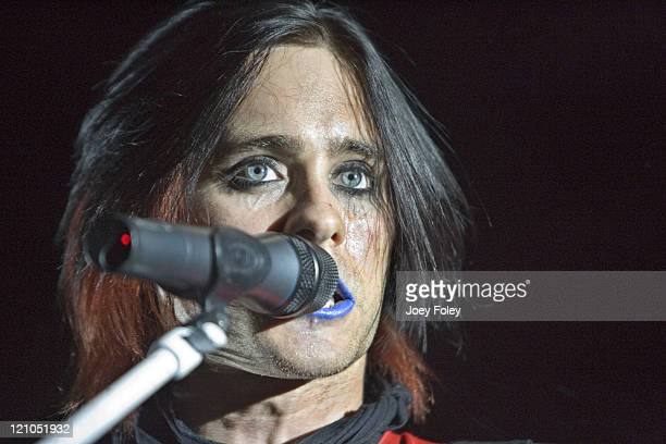 Jared Leto of 30 Seconds to Mars during MTV2 '$2 Bill' Concert Featuring 30 Seconds To Mars October 24 2006 at Lifestyles Communities Pavilion in...