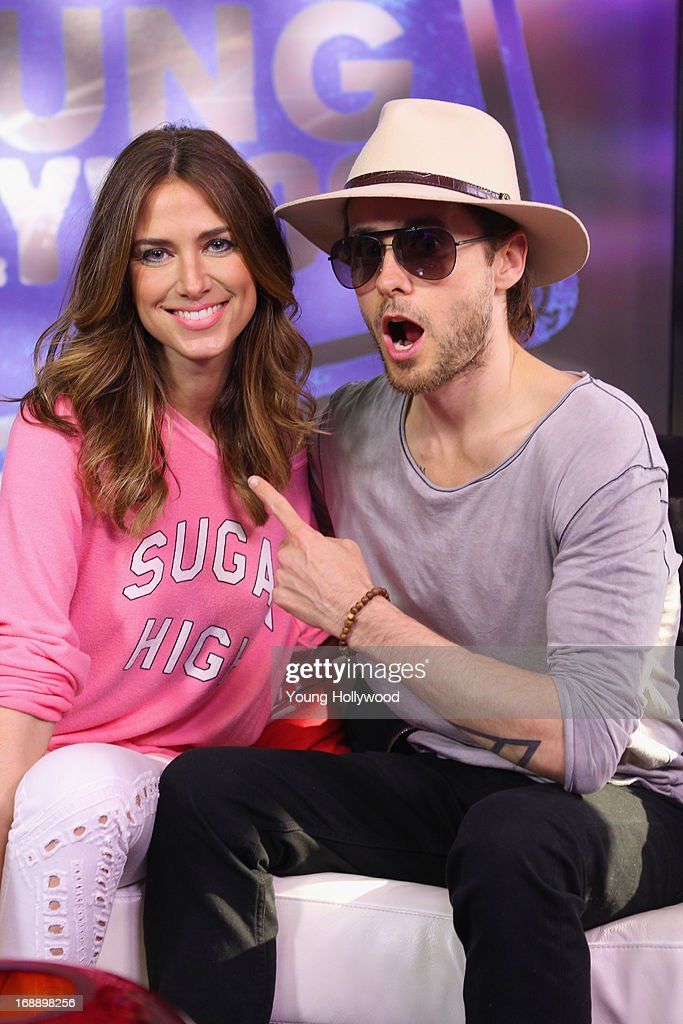 Jared Leto Visits Young Hollywood Studio   Getty Images