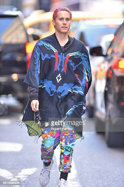 Jared Leto seen in SoHo on October 8 2015 in New York City
