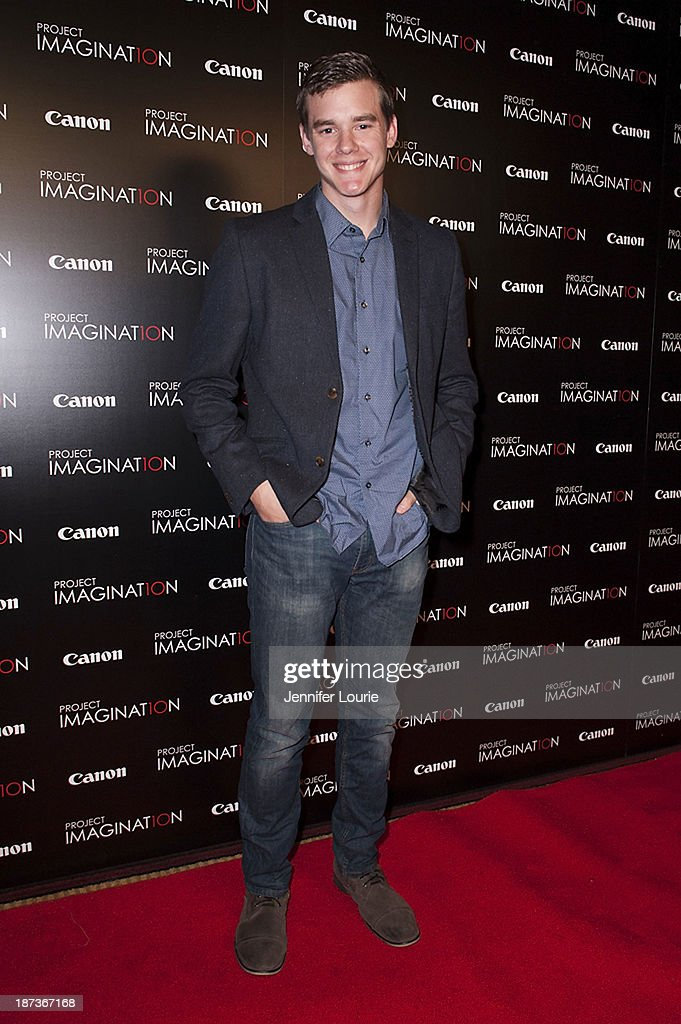 Jared Nelson attends the Los Angeles screening for Canon's 'Project Imaginat10n' film festival at Pacific Theatre at The Grove on November 7, 2013 in Los Angeles, California.