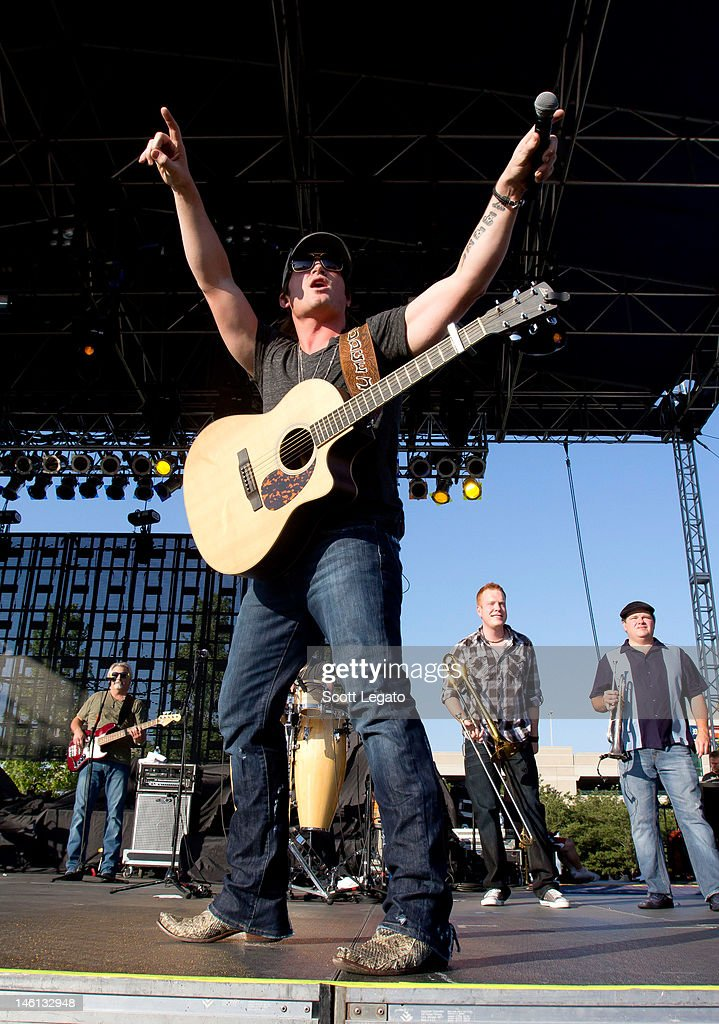 Jared Niemann performs during the 2012 Downtown Hoedown at Comerica Park on June 10, 2012 in Detroit, Michigan.