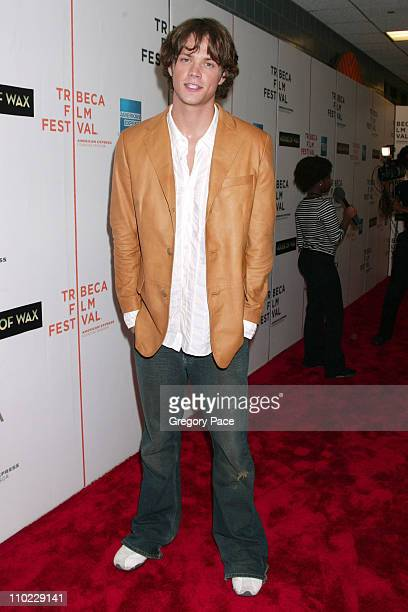 Jared Padalecki during 4th Annual Tribeca Film Festival 'House of Wax' New York City Premiere Arrivals at Stuyvesant High School in New York City New...
