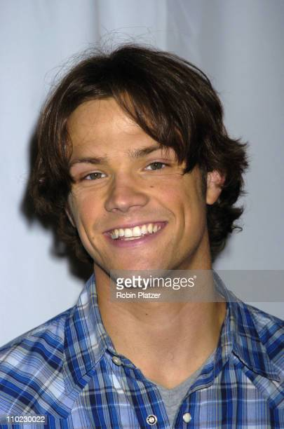 Jared Padalecki during The Cast of 'House of Wax' Reveals the Paris Hilton Wax Figure at Madame Tussauds in New York City New York United States