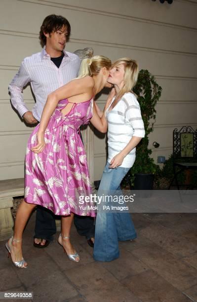 Jared Padalecki Paris Hilton and Elisha Cuthbert