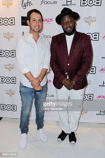 Jared Shapiro and Bob Metelus attend Haitian photographer Bob Metelus unveils newest collection Haiti A Collective Cry from a Forgotten Paradise on...