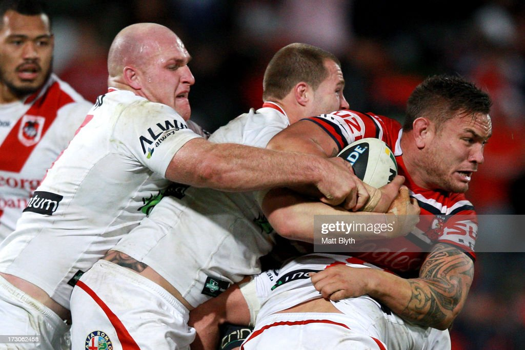 NRL Rd 17 - Dragons v Roosters