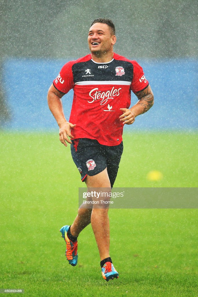 Sydney Roosters Training Session