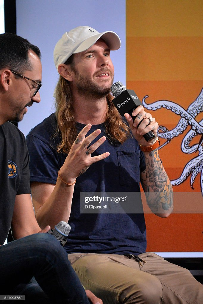 Jared Watson of the band 'Dirty Heads' attends the AOL Build Speaker Series to discuss their upcoming album at AOL Studios In New York on June 30, 2016 in New York City.