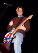 Jaret Reddick of Bowling for Soup during 971 ZHT Jingle Ball December 1 2004 at Delta Center in Salt Lake City Utah United States