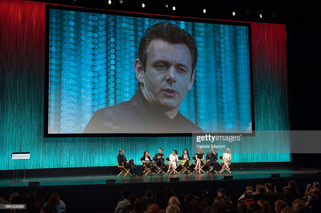 Jarett Wieselman, Michelle Ashford, <a gi-track='captionPersonalityLinkClicked' href=/galleries/search?phrase=Michael+Sheen&family=editorial&specificpeople=213120 ng-click='$event.stopPropagation()'>Michael Sheen</a>, <a gi-track='captionPersonalityLinkClicked' href=/galleries/search?phrase=Lizzy+Caplan&family=editorial&specificpeople=599560 ng-click='$event.stopPropagation()'>Lizzy Caplan</a>, Sarah Timberman, <a gi-track='captionPersonalityLinkClicked' href=/galleries/search?phrase=Caitlin+Fitzgerald&family=editorial&specificpeople=6580444 ng-click='$event.stopPropagation()'>Caitlin Fitzgerald</a>, Teddy Sears and <a gi-track='captionPersonalityLinkClicked' href=/galleries/search?phrase=Annaleigh+Ashford&family=editorial&specificpeople=4268366 ng-click='$event.stopPropagation()'>Annaleigh Ashford</a> attend The Paley Center For Media's PaleyFest 2014 Honoring 'Masters Of Sex' at Dolby Theatre on March 24, 2014 in Hollywood, California.