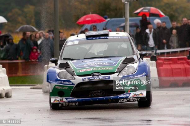 Jari Matti Latvala Ford Fiesta championnat du monde des rallyes rallye de france Alsace Photo Alain Bourdaux / Icon Sport