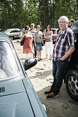 Jarmo Mettovaara from Göteborg visited Salla on holiday and came to see if a Volga Station Wagon that he adores would be on sale as asylum seekers'...