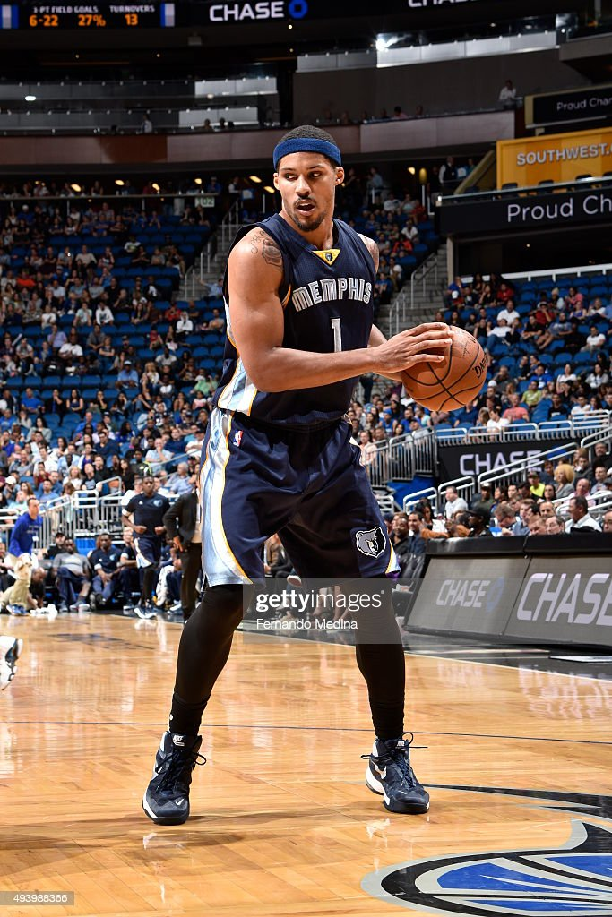 <a gi-track='captionPersonalityLinkClicked' href=/galleries/search?phrase=Jarnell+Stokes&family=editorial&specificpeople=8795785 ng-click='$event.stopPropagation()'>Jarnell Stokes</a> #1 of the Memphis Grizzlies handles the ball against the Orlando Magic on October 23, 2015 at Amway Center in Orlando, Florida.