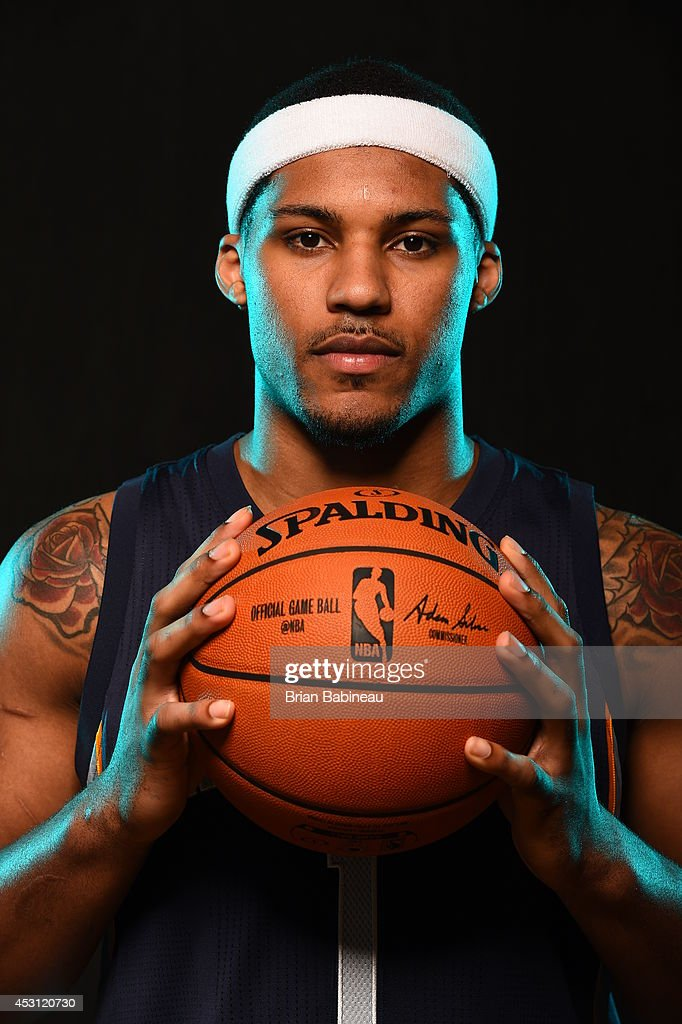 <a gi-track='captionPersonalityLinkClicked' href=/galleries/search?phrase=Jarnell+Stokes&family=editorial&specificpeople=8795785 ng-click='$event.stopPropagation()'>Jarnell Stokes</a> #1 of the Memphis Grizzlies poses for a portrait during the 2014 NBA rookie photo shoot on August 3, 2014 at the Madison Square Garden Training Facility in Tarrytown, New York.