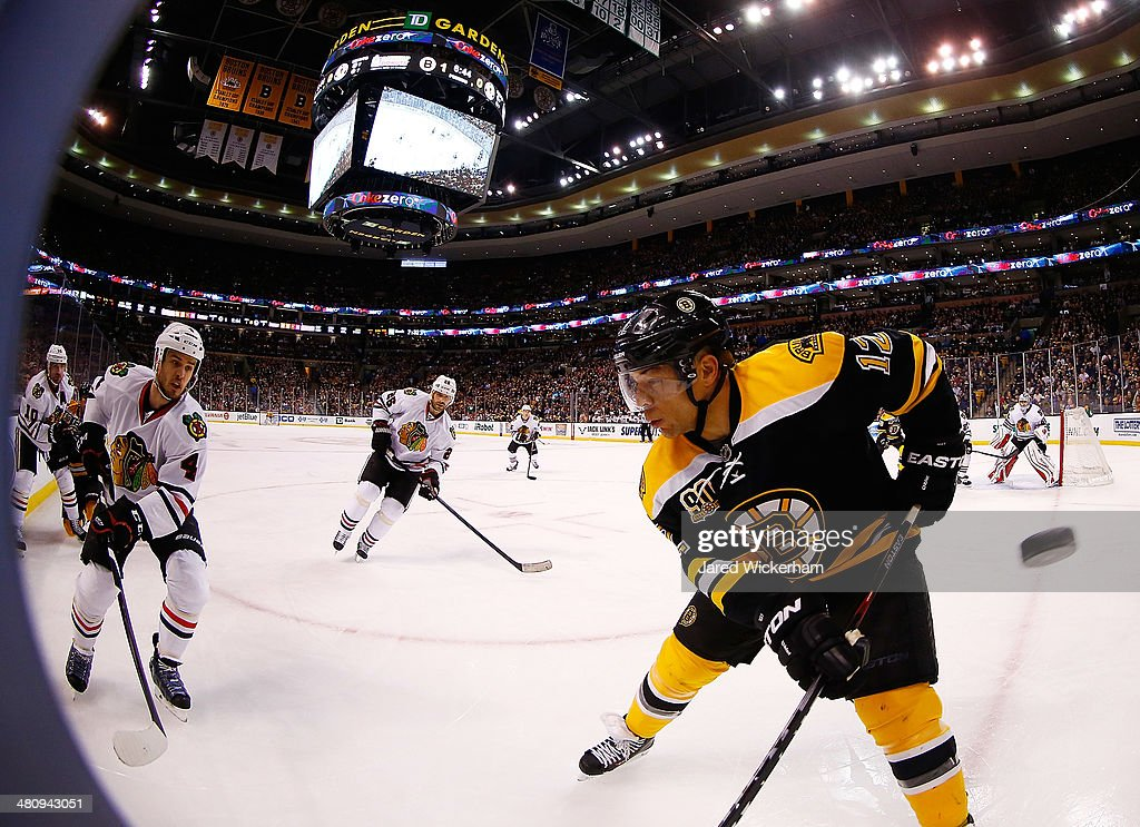 Chicago Blackhawks v Boston Bruins