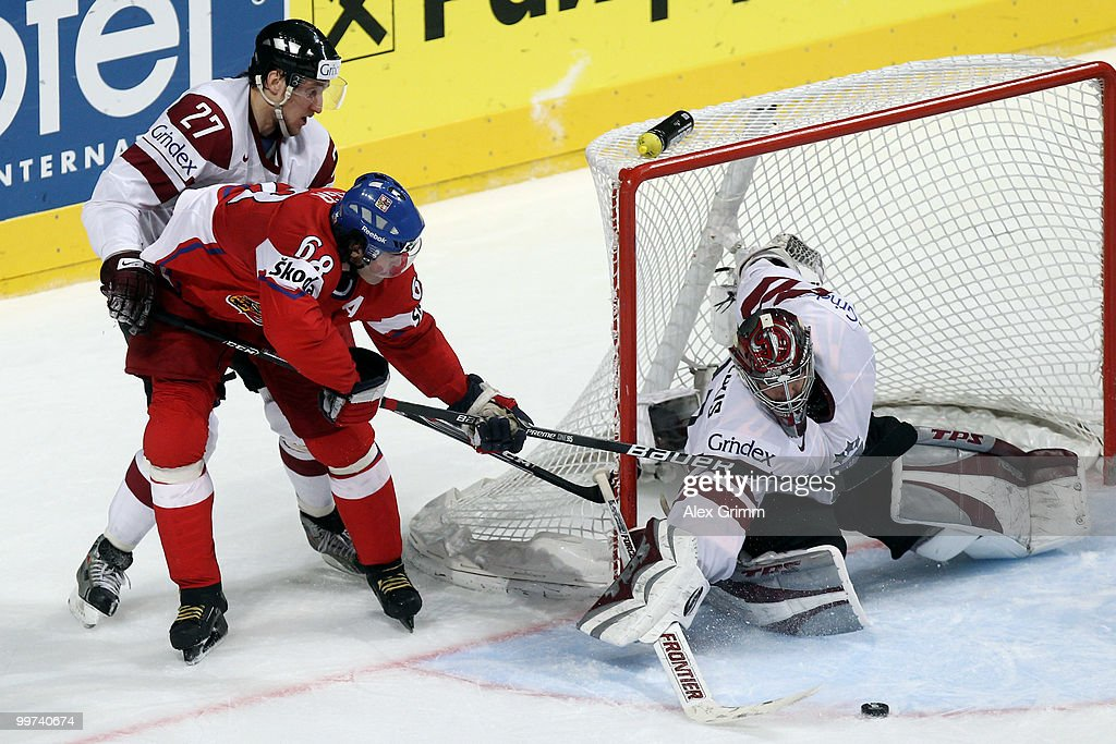 Czech Republic v Latvia - 2010 IIHF World Championship