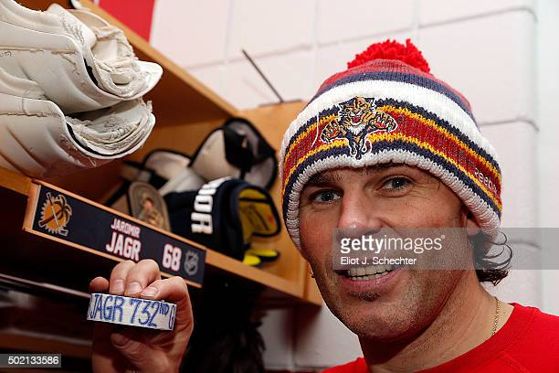 Jaromir Jagr of the Florida Panthers scored his 732nd NHL goal Sunday against the Vancouver Canucks to move past Marcel Dionne for fourth place on...