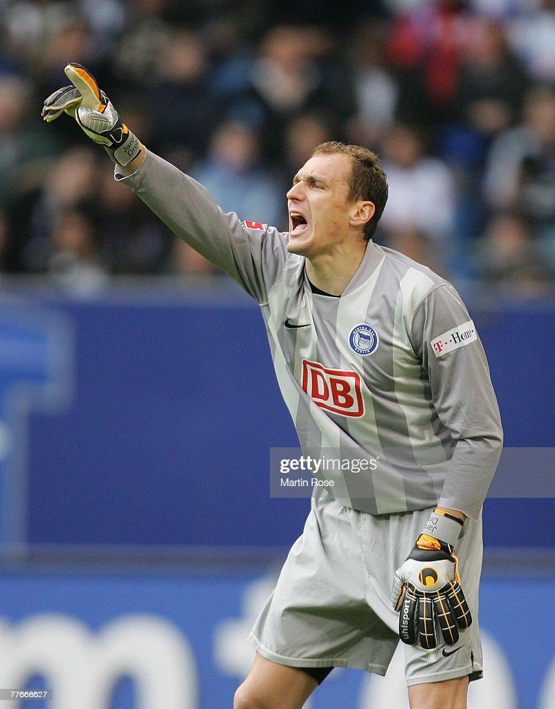Fotos e imágenes de Hamburger SV v Hertha BSC Berlin Bundesliga