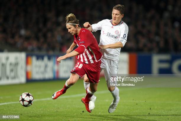 Jaroslav PLASIL / Bastian SCHWEINSTEIGER Bordeaux / Bayern Munich Champions League Stade Chaban Delmas Bordeaux