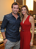 Jarret Stoll and Erin Andrews attend an instore event hosted by David Yurman with Jarret Stoll to celebrate the launch of The Men's Forged Carbon...